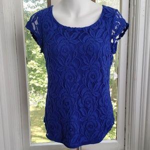 ADIVA Cobalt Blue Blouse